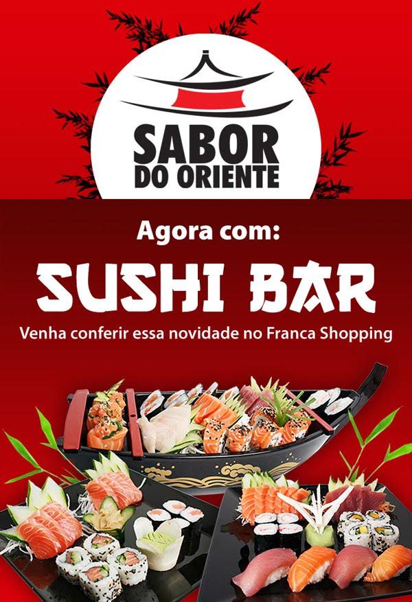SABOR DO ORIENTE COM SUSHI BAR