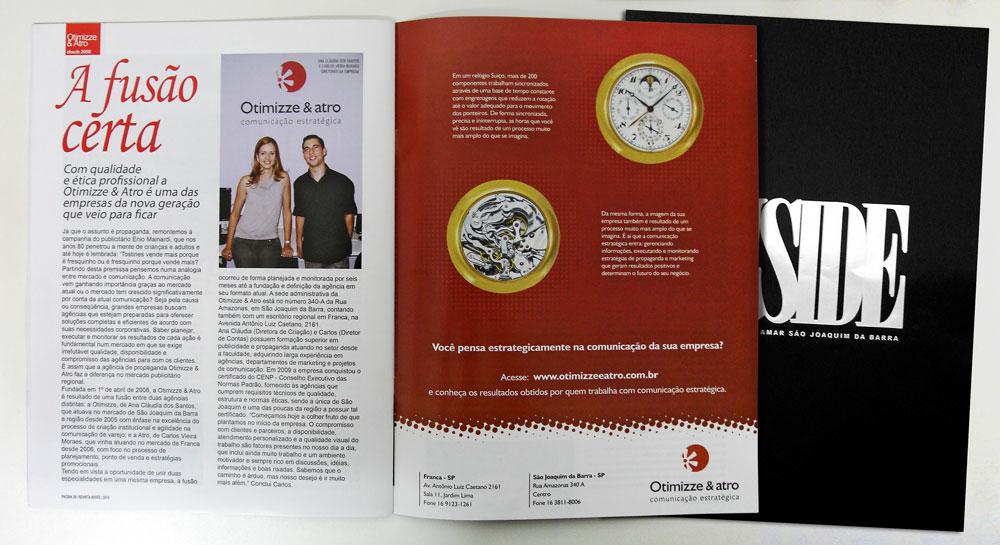 Otimizze & Atro na Revista Inside Especial