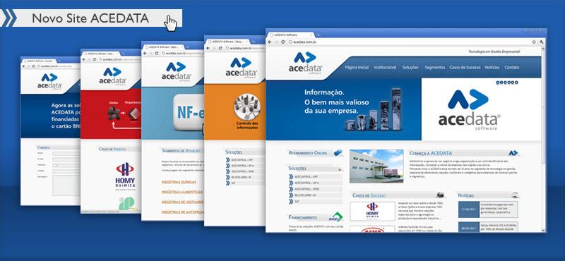 Novo Site ACEDATA