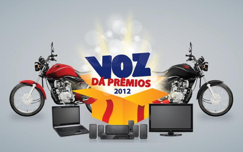 Campanha Voz dá Prêmios 2012