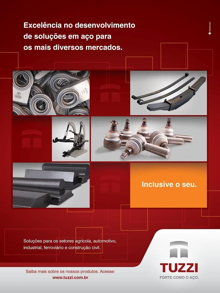 Metalúrgica Tuzzi na revista Máquinas e Inovações Agrícolas
