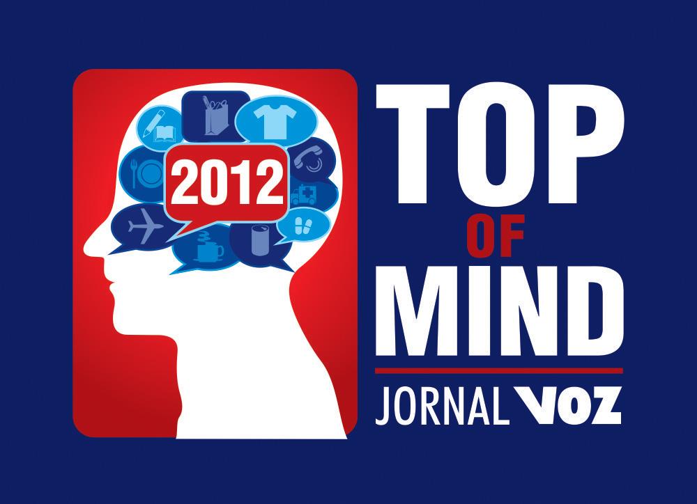 TOP of MIND 2012 – Jornal Voz