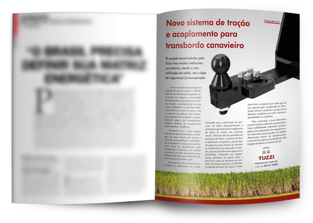 Metalúrgica Tuzzi na Revista Máquinas e Inovações Agrícolas.