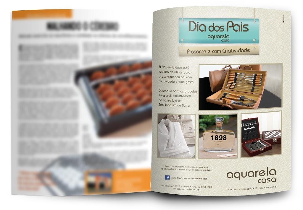 Campanha Dia dos Pais – Aquarela Casa.