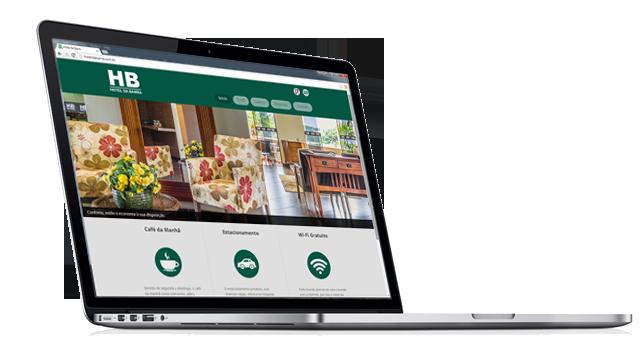 No ar: novo site do Hotel da Barra