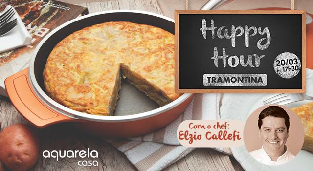 Ação Promocional – Happy Hour Tramontina e Aquarela Casa