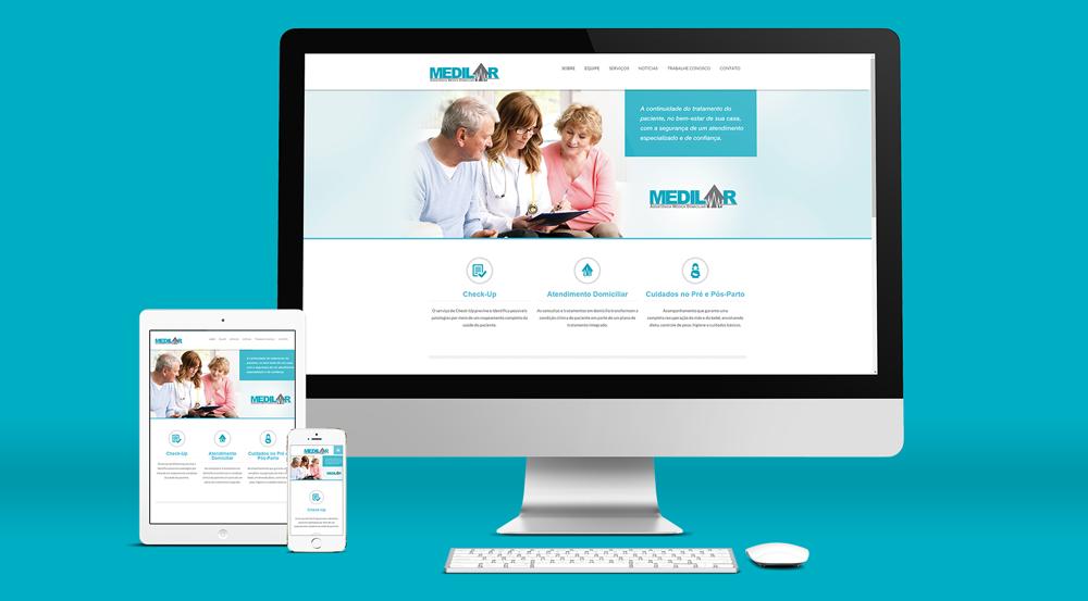 Estrutura de Comunicação On-line e Off-line para Medilar