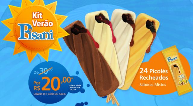 "Marketing digital para promoção ""Kit Verão Pisani"""