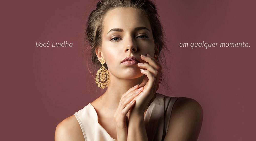 No ar: Loja on-line Lindha Bijoux & Accessories